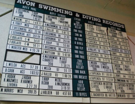 Avon Emerges Victorious over Livonia at 2015 LCAA Swim Meet