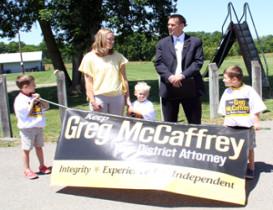 DA McCaffrey Delivers for MDA Charity Event