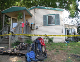 Family of Four Loses Home and Dogs to Blaze in Mount Morris