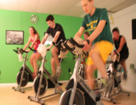 Cycle Craze Puts Their Spin On Reporters