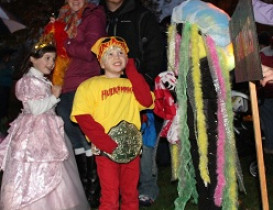 Halloween Trick-or-Treat and Parade Make Main Street a Scream