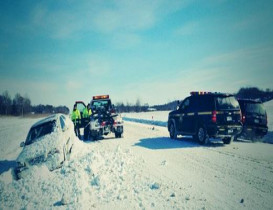 Sections of NYS Thruway to Shutdown Due to Weather