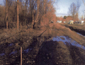 Town of Avon Bulldozes Homeowner's Land without Permission