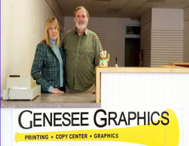 Genesee Graphics Now Go-To for Local Copying and Printing
