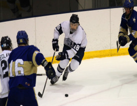 SUNY Geneseo Paints Canton with 50 Shots in Victory