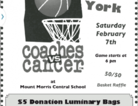 Mount Morris and York Team Up to Fight Cancer