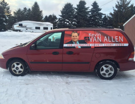 Van Allen Passes Torch as Village Attorney to Run for County Judge