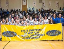 SUNY Geneseo Wins Women's Basketball SUNYAC Title