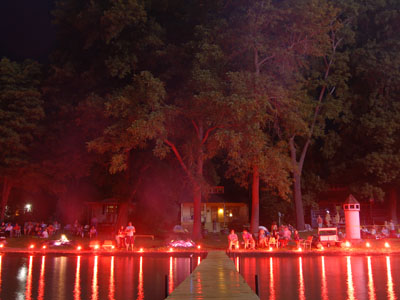 VIDEO: Families Ready to Celebrate Conesus Lake Ring of Fire