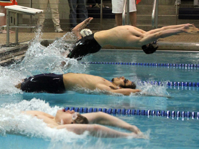 Livonia's Boys Swim Team Beats Hornell