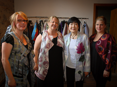 Lower Mill businesses host fashion show