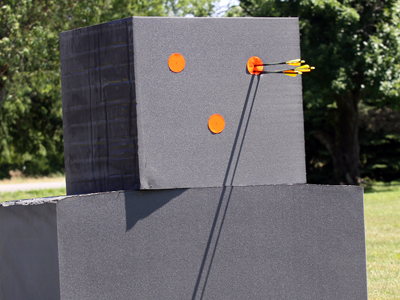 Zero in with locally produced bow targets