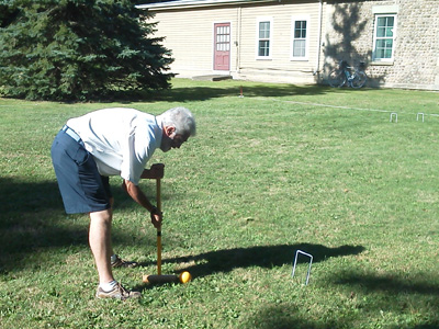 Classic game for a classic place; Croquet tournament in Geneseo