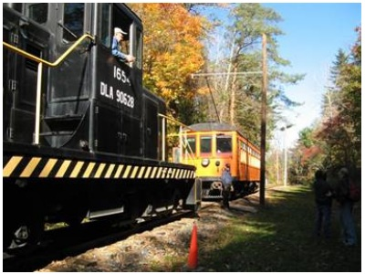 Railroad excursion in Rush now open