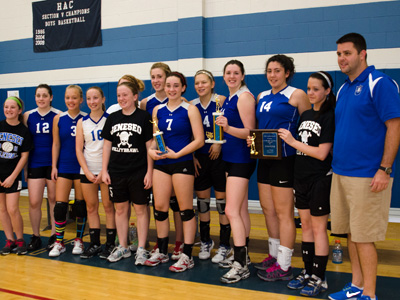 GIRLS VOLLEYBALL: Geneseo captures HAC tournament title