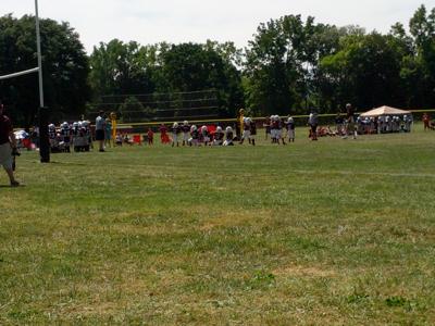 YOUTH FOOTBALL: Red Raiders slip by Mustangs 42-28