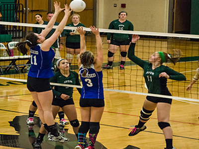 GIRLS VOLLEYBALL: Geneseo defeats Avon