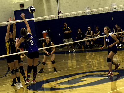 GIRLS VOLLEYBALL: Geneseo tops Perry