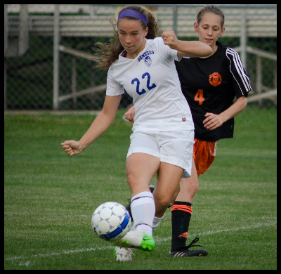 Geneseo Girls Soccer Falls to a Strong Keshequa Offense