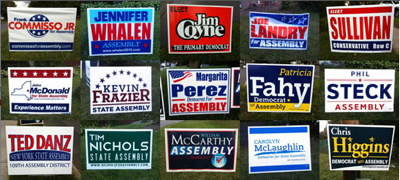 City reminds homeowners to remove election signs