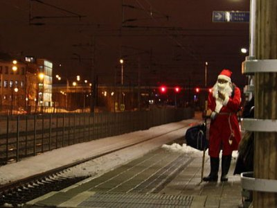 Santa is Coming to the Transportation Museum