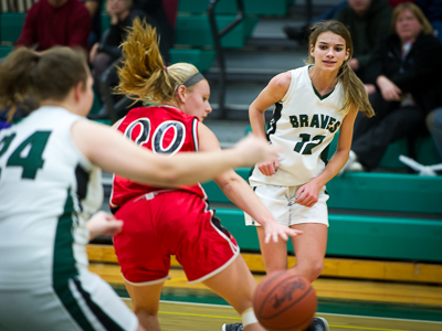 GIRLS BASKETBALL: Lady Braves fall to Dansville