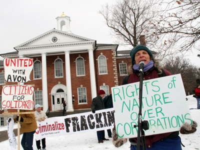 Hydrofracking parties meet in court to argue Avon moratorium