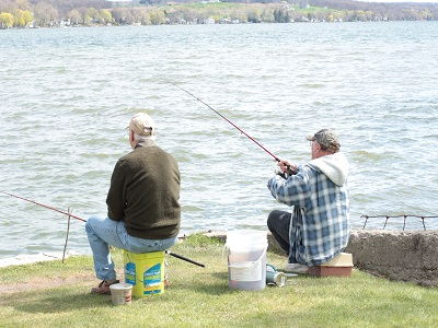 Chip Holt Nature Center Throws a Reel Party, Free Fishing on Conesus Lake