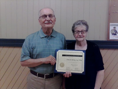Avon Residents honored for their contributions