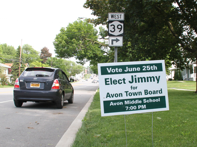 Sign and finance regulations tricky for local candidates