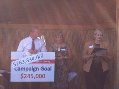 United Way of Livingston County exceeds goal