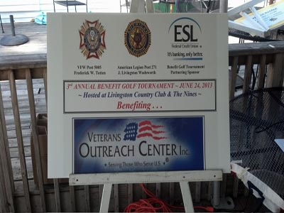 Golf Tournament benefits Veterans Outreach Center