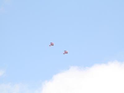 Geneseo Airshow Takes Flight with Father and Son Stunt Team