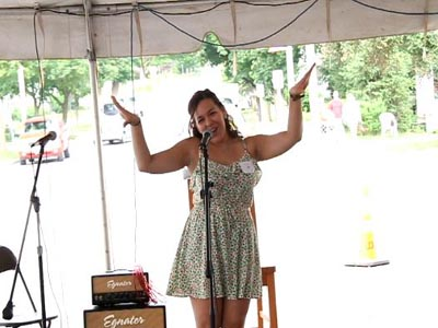 Elyssa Ramirez wins Geneseo's got Talent contest