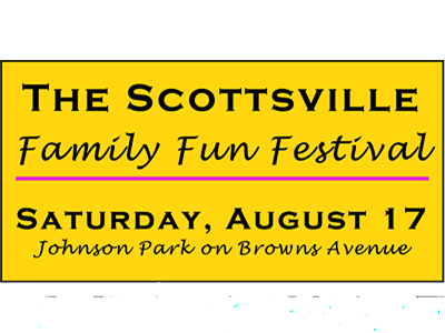 The Village of Scottsville presents, Family Fun Festival