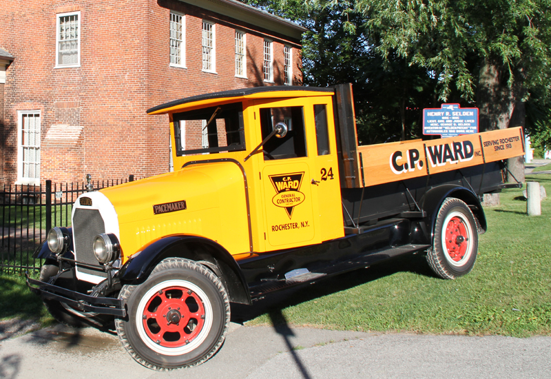 C.P. Ward Inc. 1926 Selden Truck Takes Journey to Birthplace of Inventor