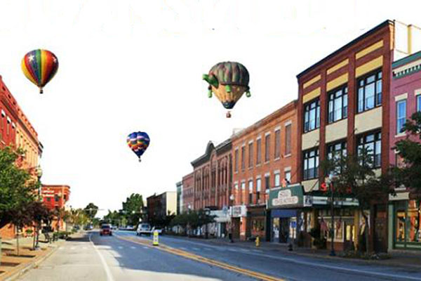 Livingston County Wins National Award for Downtown Development