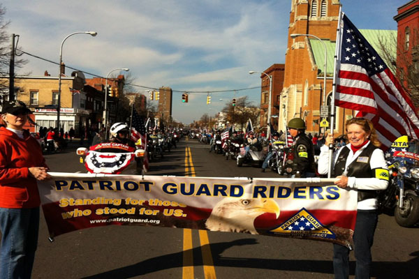 Patriot Guard Riders Will Escort Veterans Remains Through County