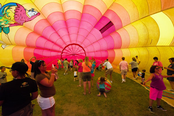 Shutterbug's Delight with Letchworth State Park Hot Air Balloon Festival