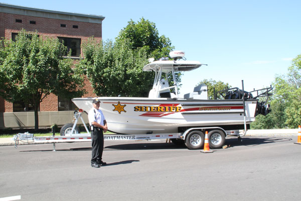 New Patrol Boat for Livingston County Sheriff's Department
