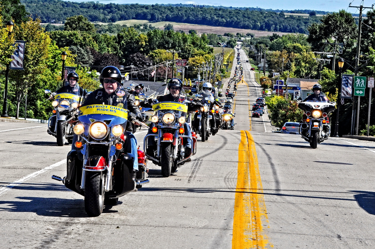 Patriot Guard to Escort 6 Soldiers' Remains Through County June 26