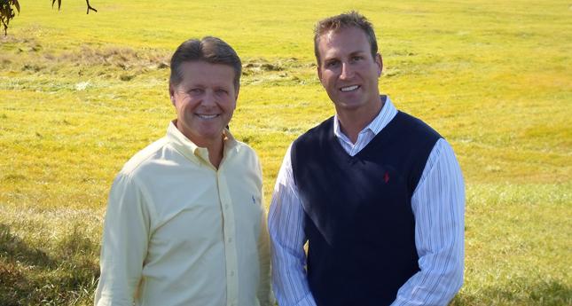 New York State Senator Pat Gallivan (L) and Tom Dougherty. (Photo Provided)