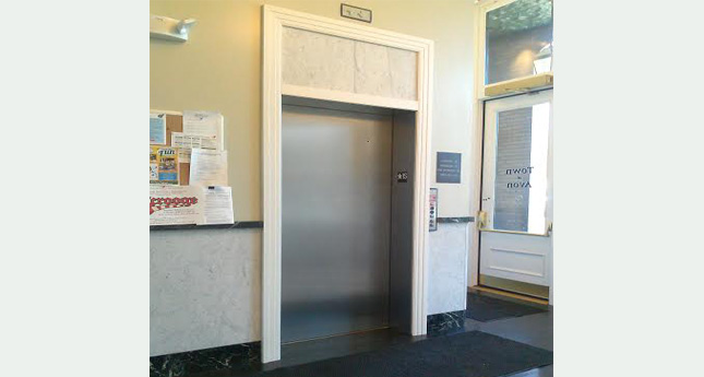Woman Briefly Stuck in Avon Town Hall Elevator