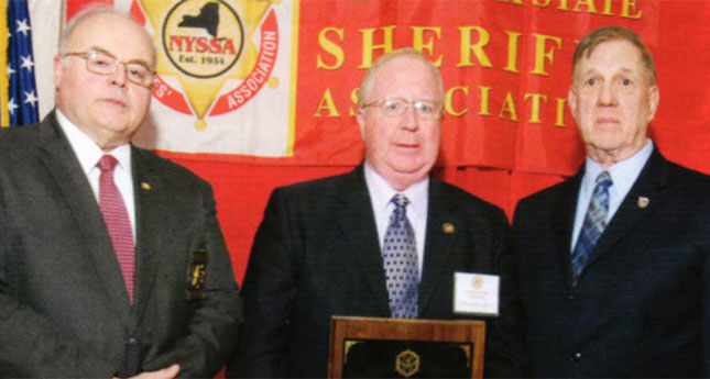 Sheriff York Honored with Grover Cleveland Award by Sheriffs' Association