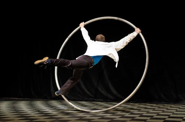 Avi Pryntz-Nadworny of AIRPLAY with the Cyr Wheel will be performing. (Photo/ Josh Williams)