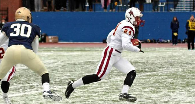 Fuentes Continues Football Success as St. John Fisher to Play in 'Elite 8' Game