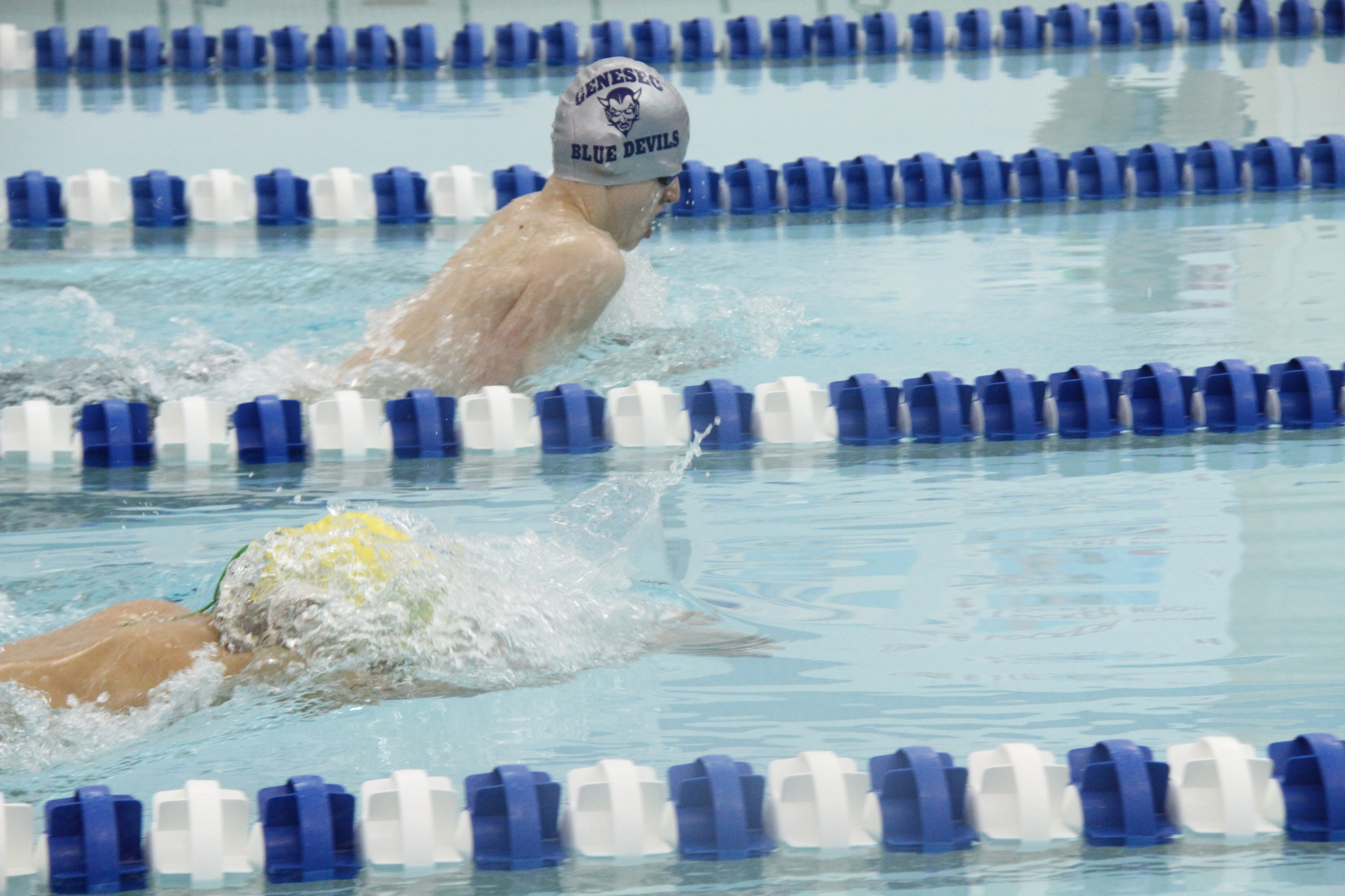 Geneseo Swimmers Outpoint York-Pavilion  82 – 72