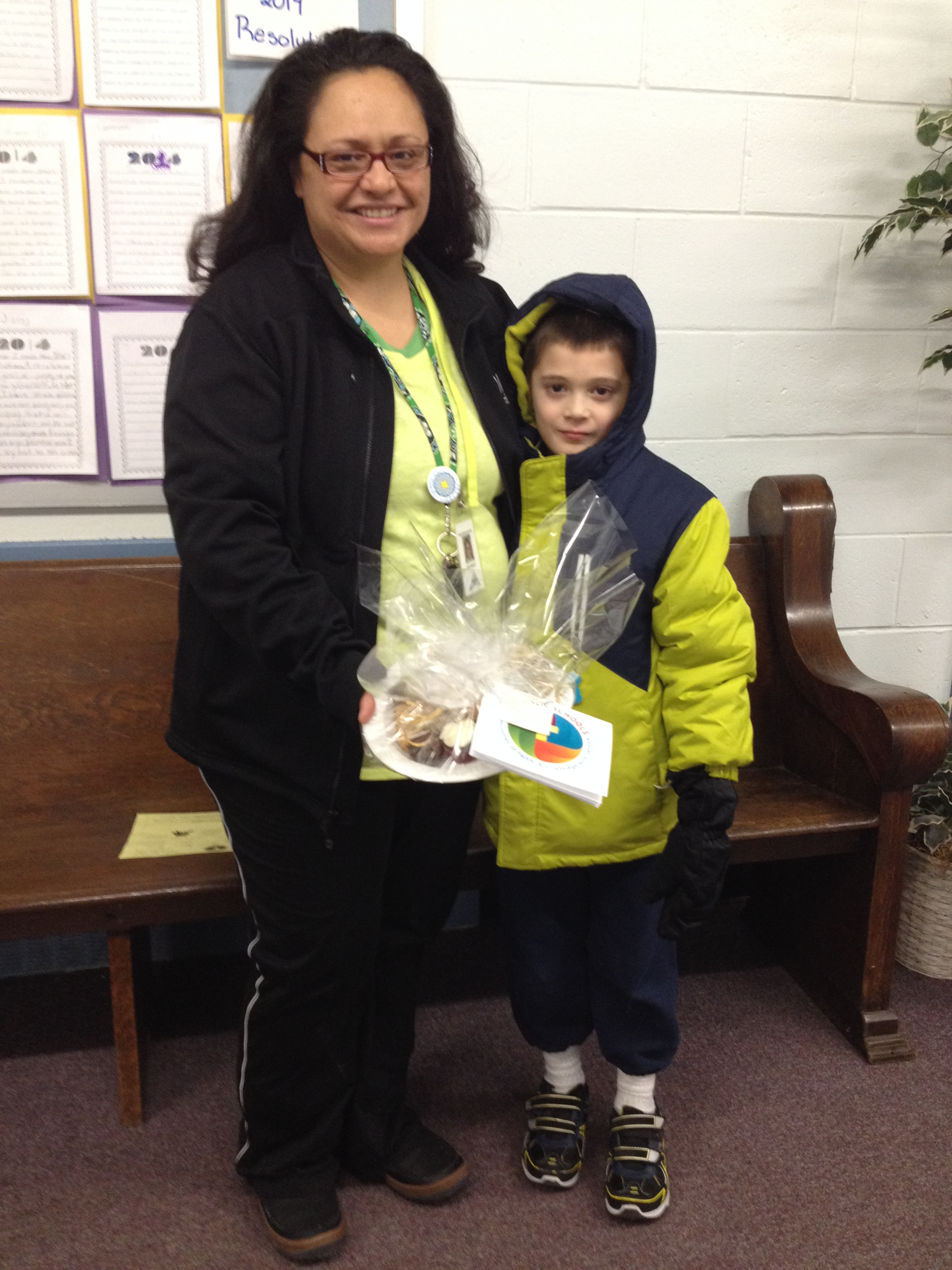 St. Mary's School Gives Back During Catholic Schools Week