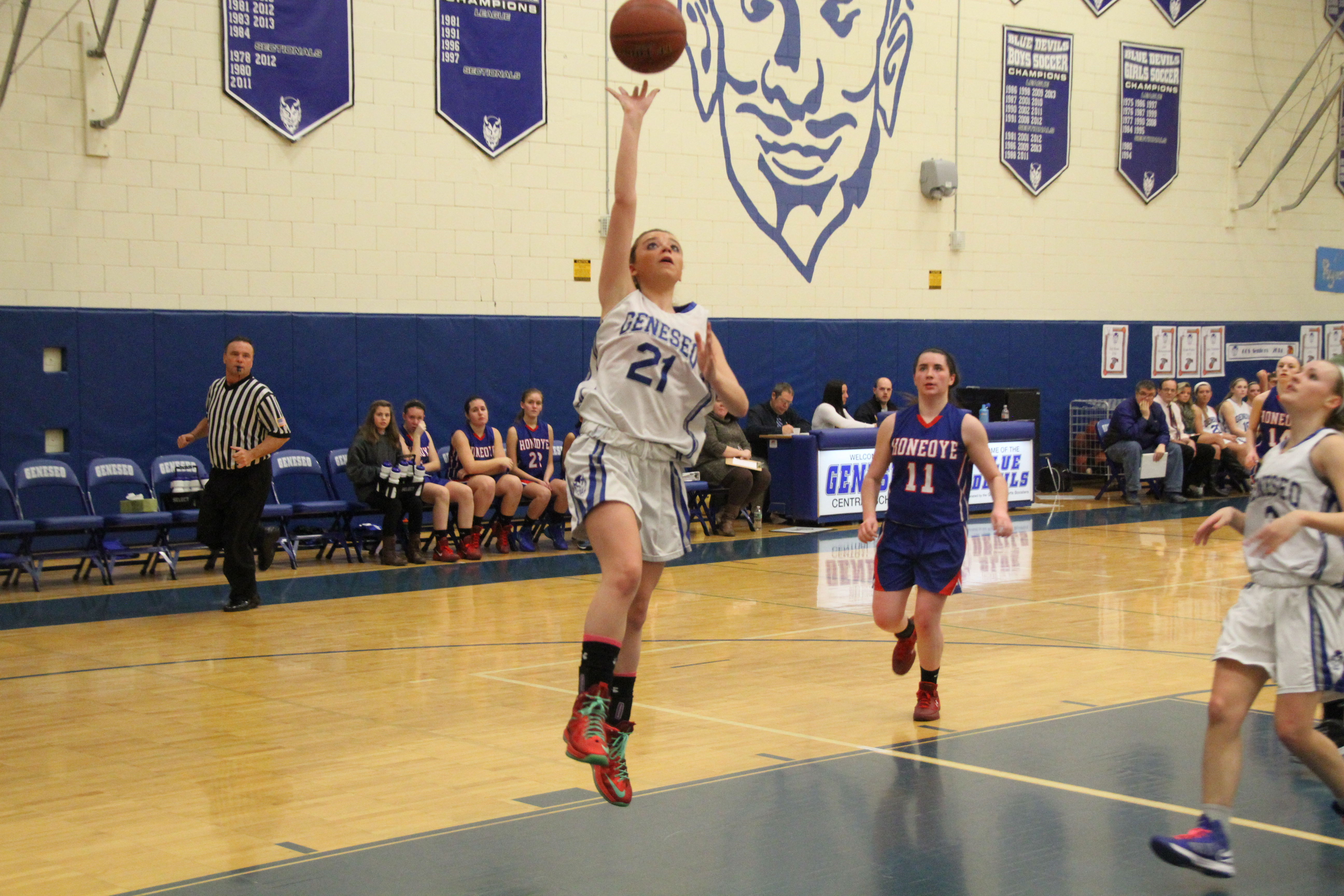 Girls Basketball: Salatel leads Geneseo in rout