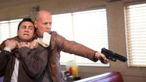 Looper - Joseph Gordon-Levitt and Bruce Willis